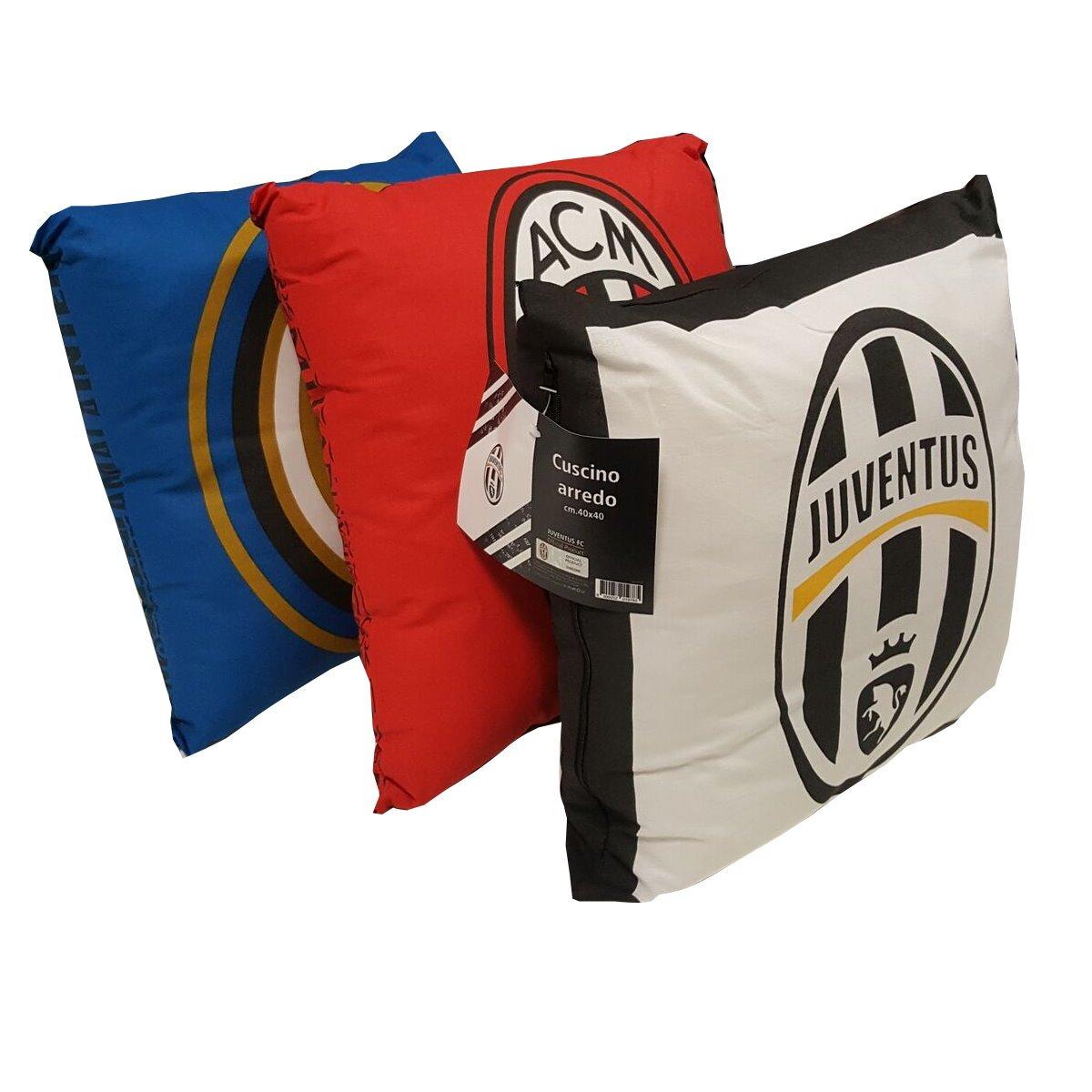 Vendita di cuscini di squadre di calcio luve milan inter for Vendita cuscini arredo