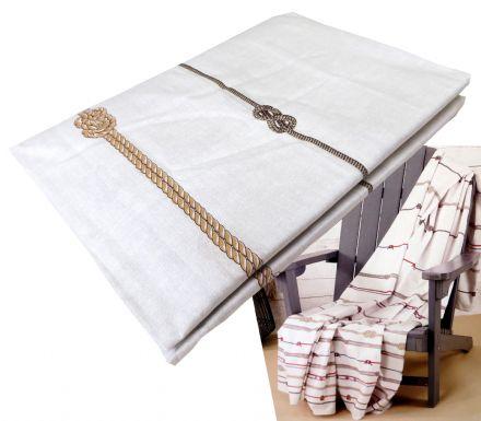 foulard arredo basics sail marrone zucchi gps