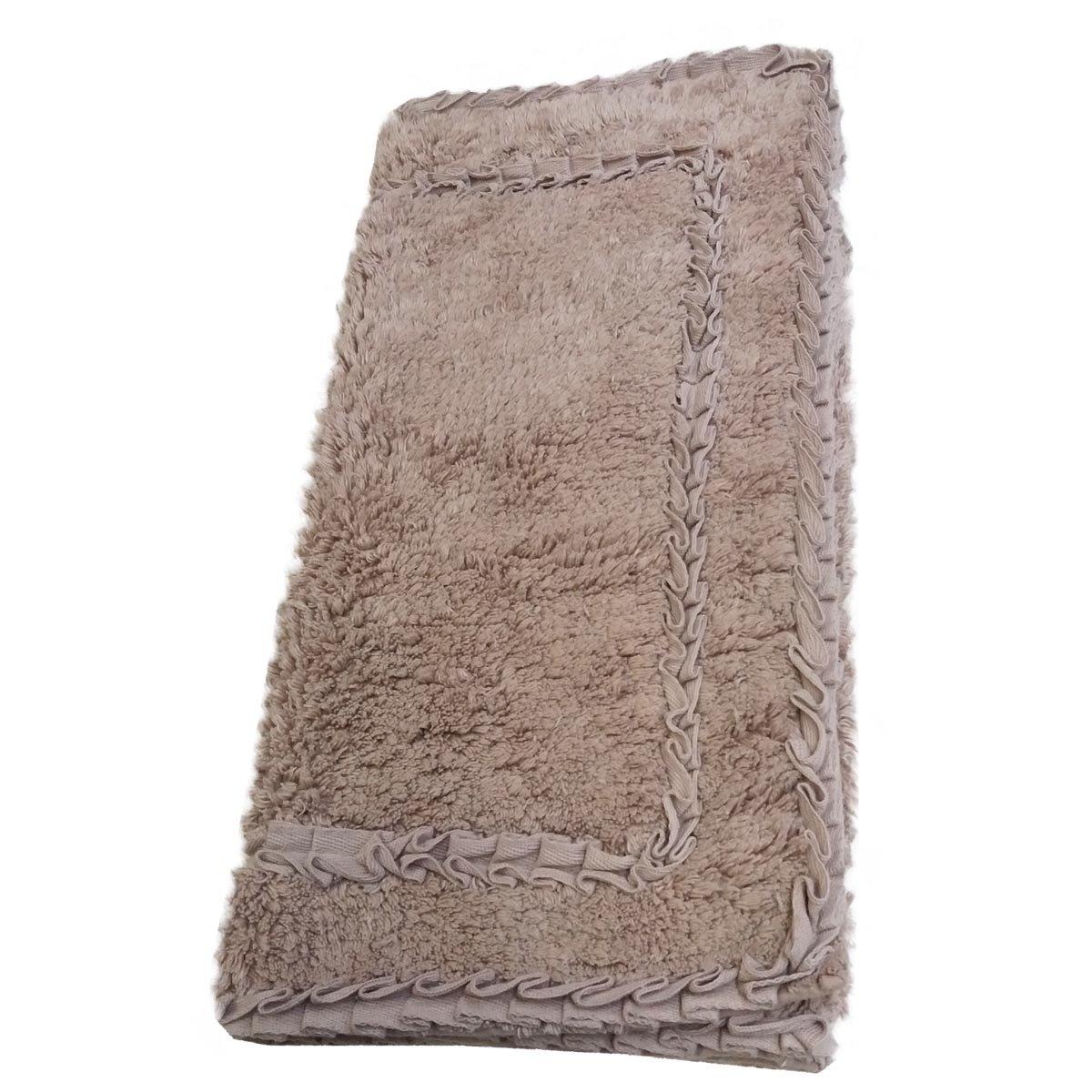 tappeto bagno con antiscivolo cm 50x80 con applicazione di ...